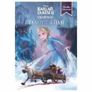 Disney Frozen 2 Çıkartmalı Faaliyet Kitabı