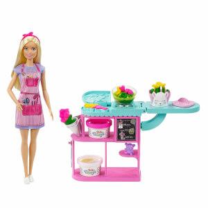 Barbie Çiçekçi Bebek Oyun Seti GTN58