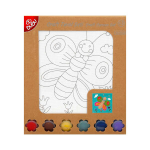 BuBu Craft Tuval Boyama Seti 15 x 15 cm.