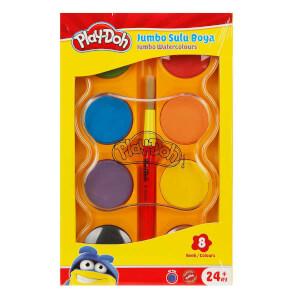 Play Doh Jumbo Sulu Boya 8 Renk