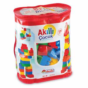 Akıllı Çocuk Renkli Bloklar 125 Parça