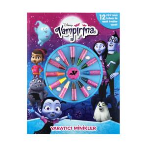 Disney Vampirina Yaratıcı Minikler Boyama Kitabı