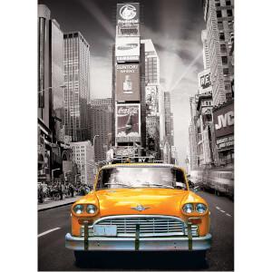 1000 Parça Puzzle : New York City Yellow Cab