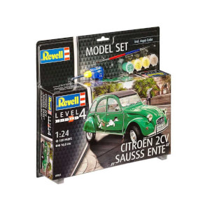 Revell 1:24 Citroen 2CV Model Set Araba 67053