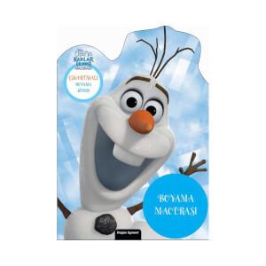 Olaf'ın Karlar Ülkesi Macerası Çıkartmalı Boyama Kitabı