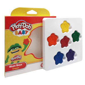 Play Doh Baby Mum Boya 6 Renk