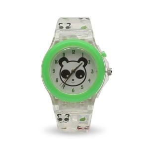 Panda LED Işıklı Analog Kol Saati