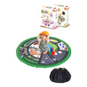 Bluuh Baby Bohcha Yolculuk Serüveni Oyun Halısı Yeşil