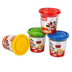 Crafy Mickey Mouse 4'lü Oyun Hamuru 560 gr.