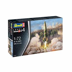 1:72 Revell German A4-V2 Rocket 03309