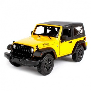 1:18 Maisto Jeep Wrangler 2014 Model Araba