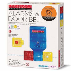 Logiblocs Alarm & Door Bell Akıllı Elektronik Oyun Devresi