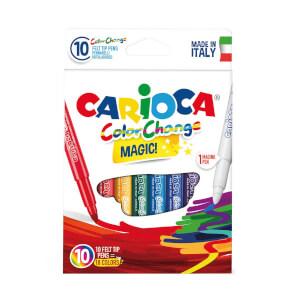 Carioca Renk Değiştiren Sihirli Keçeli Boya Kalemi 9+1