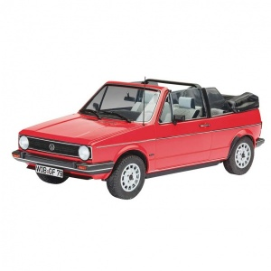 Revell 1:24 VW Golf Cabrio Model Set Araba