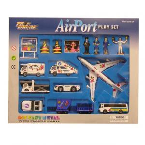 Havaalanı Oyun Seti 19 Parça