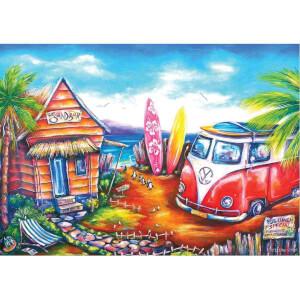 260 Parça Puzzle : Sörf Kampı
