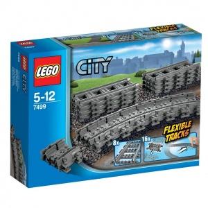 LEGO City Trains Ayarlanabilir Raylar 7499