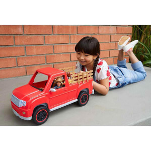 Barbie Sweet Orchard Farm Çiftçi Barbie Bebeği ve Kamyonu GFF52