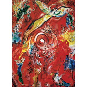 1000 Parça Puzzle : The Triumph of Music - Marc Chagall