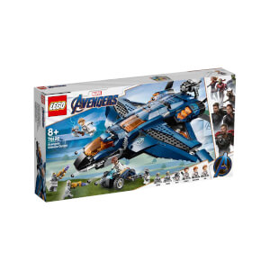 LEGO Marvel Avengers Movie 4 Avengers Muhteşem Quinjet 76126
