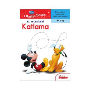 Disney Okulda Başarı El Becerileri 1 Boyama Kitabı