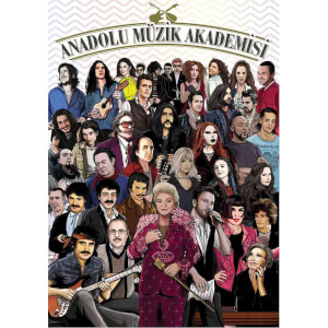 1500 Parça Puzzle : Anadolu Müzik Akademisi