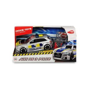 1:32 Sesli ve Işıklı Audi RS3 Polis Arabası