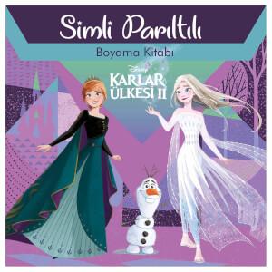 Disney Frozen 2 Simli Pırıltılı Boyama Kitabı