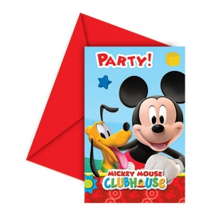 Mickey 6'lı Davetiye