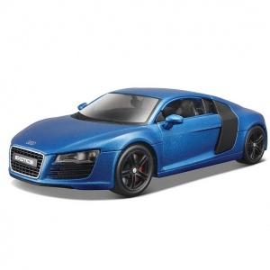 1:24 Maisto Audi R8 Mavi Model Araba