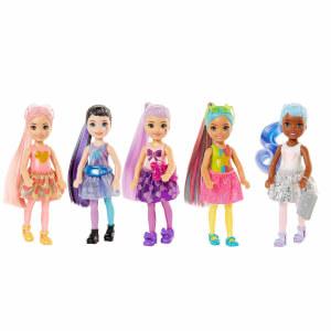 Barbie Color Reveal Renk Değiştiren Işıltılı Sürpriz Chelsea Bebekler Serisi 1 GWC59