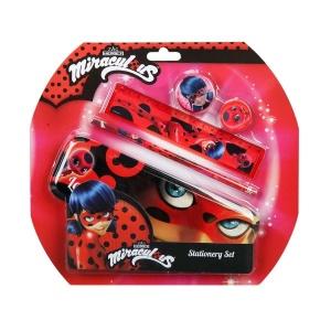 Miraculous Ladybug 5'li Kırtasiye Set