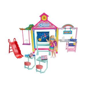 Barbie Chelsea Okulda Oyun Seti GHV80