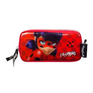 Miraculous Ladybug Kalem Kutusu Kırmızı 2203