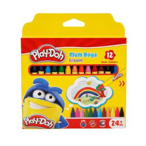 Play Doh Silinebilir Crayon Mum Boya 12 Renk