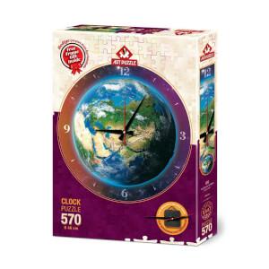 570 Parça Saat Puzzle : Dünya Saati