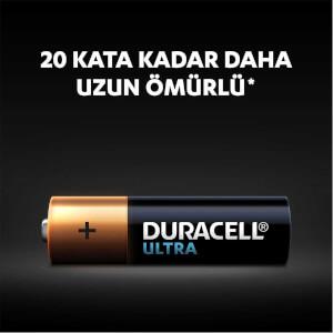Duracell Ultra Kalem Pil AA 6'lı