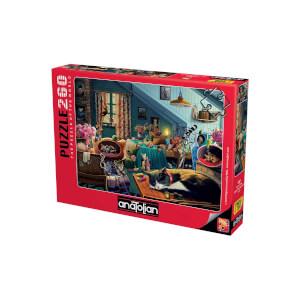 260 Parça Puzzle : Oyun Odası