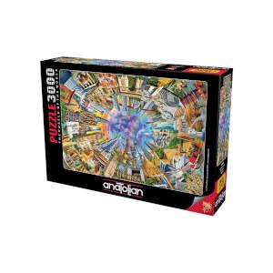 3000 Parça Puzzle : Dünya Anıtları