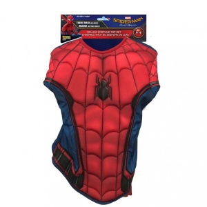 Spider-Man Muscle Chest Shirt Kostüm Standart Beden
