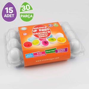 Circle Toys Geometrik Yumurta Eşleme Oyunu 15'li