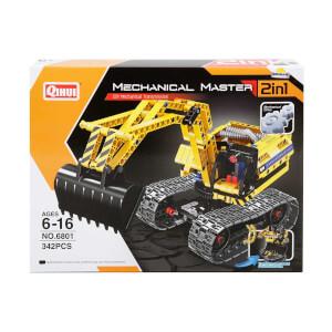 Yapım Seti: Mechanical Master Mekanik 2 in1 İş Makinesi