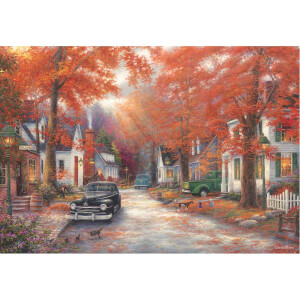 2000 Parça Puzzle : Anılar Sokağı