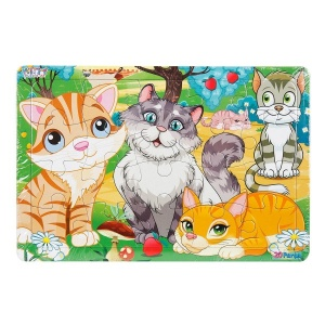 20 Parça Puzzle : Kediler