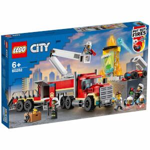 LEGO City Fire İtfaiye Komuta Birimi 60282