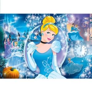 104 Parça Puzzle : Brilliant Princess Cinderella