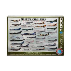 1000 Parça Puzzle : Modern Warplanes