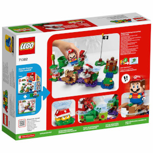 LEGO Super Mario Piranha Plant Şaşırtıcı Engel Ek Macera Seti 71382