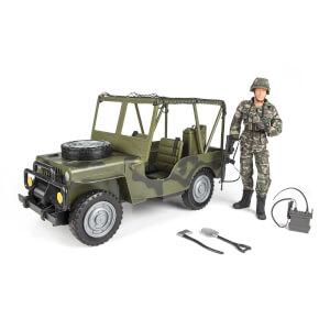 World Peacekeepers - Askeri Araç ve Oyuncak Asker Figürü