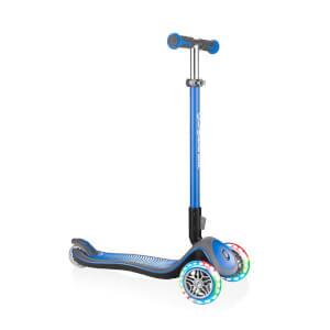 Elite Lights 3 Tekerlekli Mavi Scooter